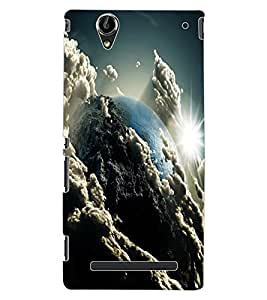 ColourCraft The Galaxy Design Back Case Cover for SONY XPERIA T2 ULTRA