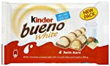 Kinder Bueno White Bar Mulitpack 4 x 156 g (Pack of 9)