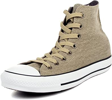 Converse - Chuck Taylor HI Shoes, Size: 4 D(M) US Mens / 6 B(M) US Womens, Color: Olive Grey