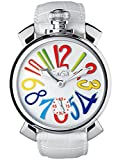 GAGA MILANO 5010.1S ACCIAIO 48MMガガミラノ手巻き腕時計メンズ腕時計 [並行輸入品]