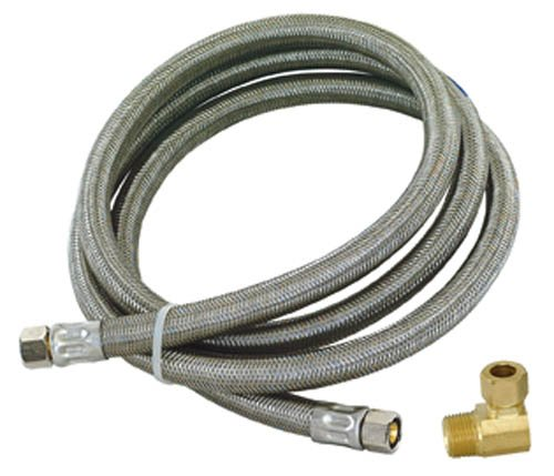 Eastman 48366 Ss Dishwasher Installation Kit, 3/8-Inch Mip Elbow (Eastman Dishwasher Hose compare prices)
