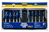 Irwin Tools 1801022 Speedbor Max Set with Storage Case, 10-Piece