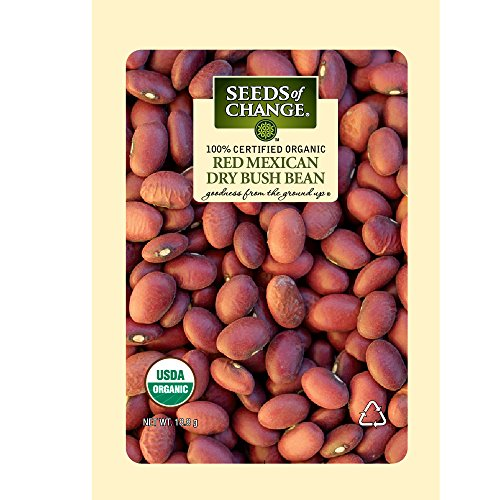 Seeds of Change S10959 Certified Organic Red Mexican Dry Soup Bean