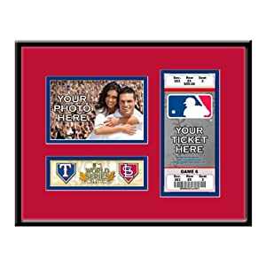 MLB St. Louis Cardinals 2011 World Series Your 4x6 Photo Ticket Frame by That