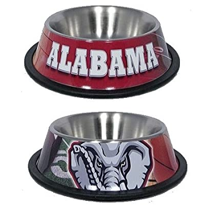 Domestic Pet Ncaa Mlb & Nfl Sports Dog Clothing Stainless Bowl Gifts