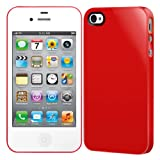 NUDE for iPhone4/4S Red SW-NUI4-R