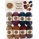 Lion Brand Yarn 601-650 Bonbons Yarn,...