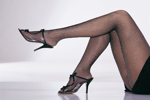 Tights Fishnet Glitr Pink Slvr