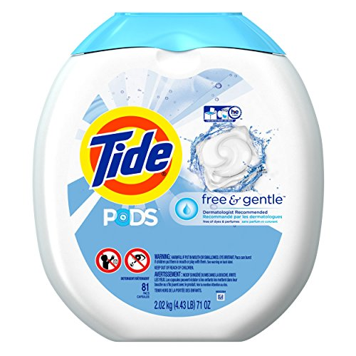 Tide Pods He Turbo Laundry Detergent Pacs Tub,