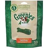 Greenies Mini Treat Pak 6-Ounce Canine Dental Chews for Adult Dogs, Petite