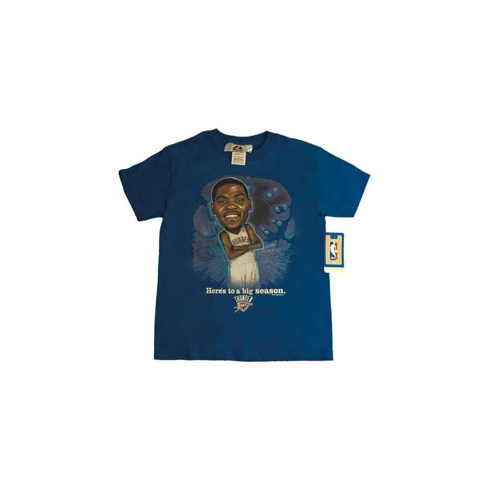 Youth Medium NBA OKC Oklahoma City Thunder Kevin Durant T shirt M