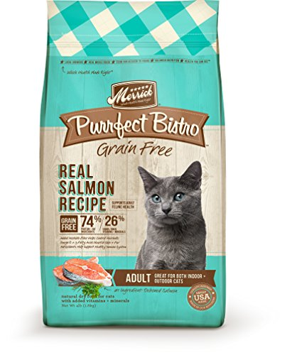 Merrick Purrfect Bistro Grain Free Real Salmon Recipe