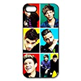 One Direction Apple iPhone 5 5S Case Cover Protecter - Retail Packaging - Durable Plastic