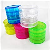 4 piece Herb Grinder Acrylic with Screen + Stash, Garden, Lawn, Maintenance