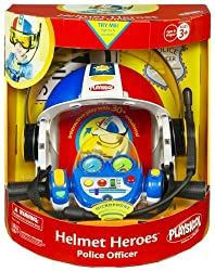 Playskool Police Adventure Squad Helmet Heroes Police Officer