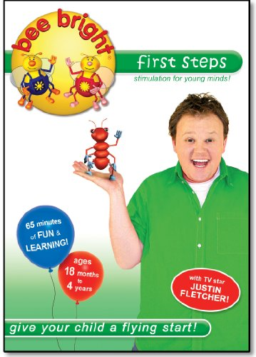 bee bright first steps - early learning DVD (18 months+)