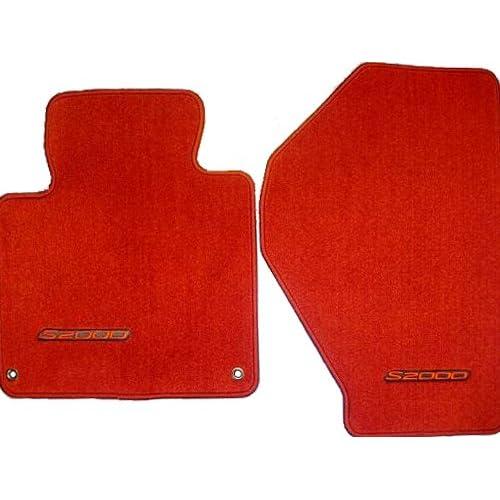 Amazon.com: Genuine OEM Honda S2000 Carpet Floor Mats Set of 2 - Red