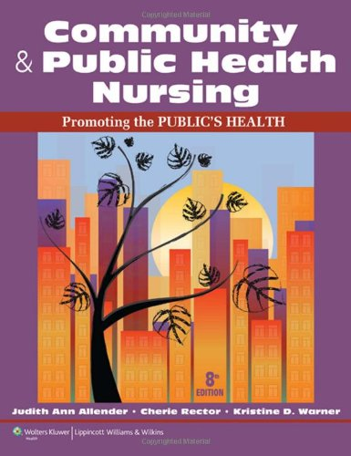 Community & Public Health Nursing: Promoting The Public'S Health front-14102