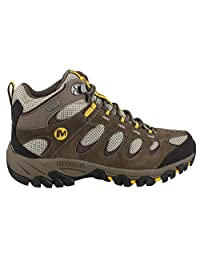 Merrell Ridgepass Mid WP Hiking Boot Wide Width - Men's