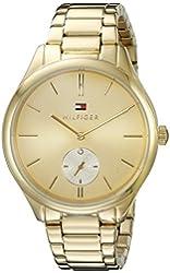 Tommy Hilfiger Women's 1781578 Analog Display Quartz Gold Watch