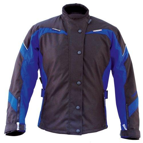 roleff racewear 7245 blouson moto textile paris pour femmes noir bleu dxl sport automobile. Black Bedroom Furniture Sets. Home Design Ideas