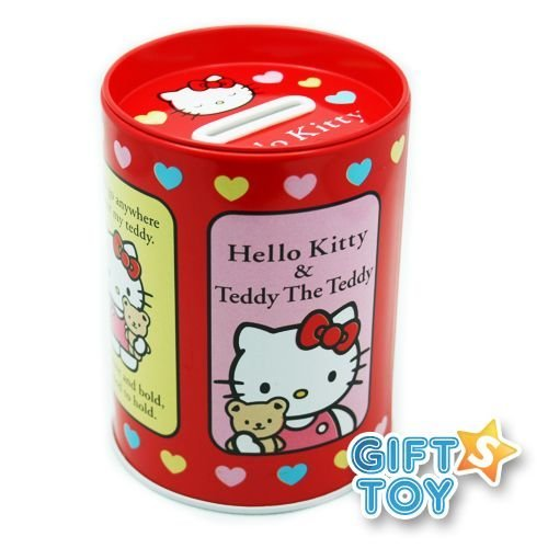 Hello Kitty : Coin Bank (Red) - 1