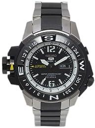 Seiko 5 Automatic Map Meter Mens Watch SKZ319