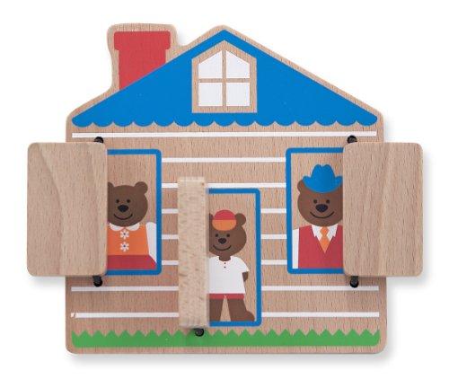 Melissa & Doug Peek-a-Boo House - 1