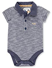Autograph Pure Cotton Slub Polo Bodysuit