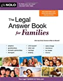 img - for The Legal Answer Book for Families book / textbook / text book