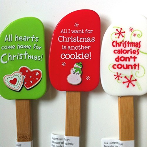 christmas-holiday-silicone-spatulas-set-of-3-baker-baking-cooking-kitchen-cookie-exchange-gift