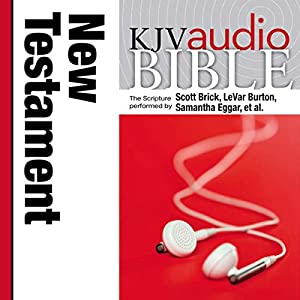 KJV Audio Bible, Pure Voice: New Testament Audiobook