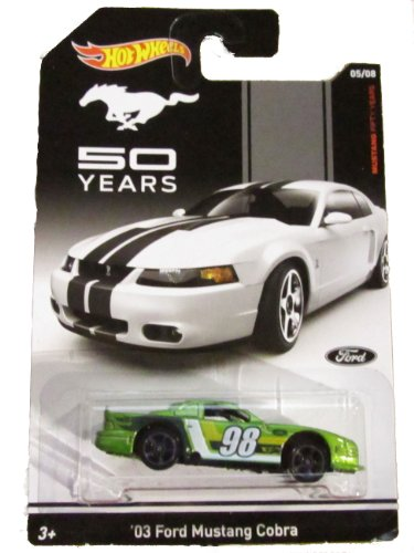 Hot Wheels Mustang 50 Years 05/08 - '03 Ford Mustang Cobra