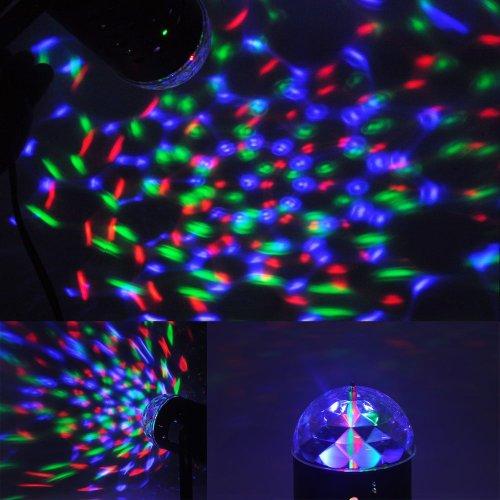 Beety® Disco Dj Stage Lighting Led Rgb Crystal Stage Light Dj Disco Party Wedding Show Club Bar