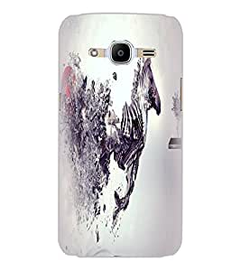 SAMSUNG GALAXY J2 2016 HORSE Back Cover by PRINTSWAG