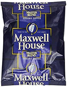 Maxwell House Master Blend Ground Coffee, 1.1-Ounce Packages (Pack of 42)