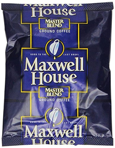 Maxwell House Master Blend Ground Coffee, 1.1-Ounce Packages (Pack of 42) (Maxwell House Master Blend compare prices)