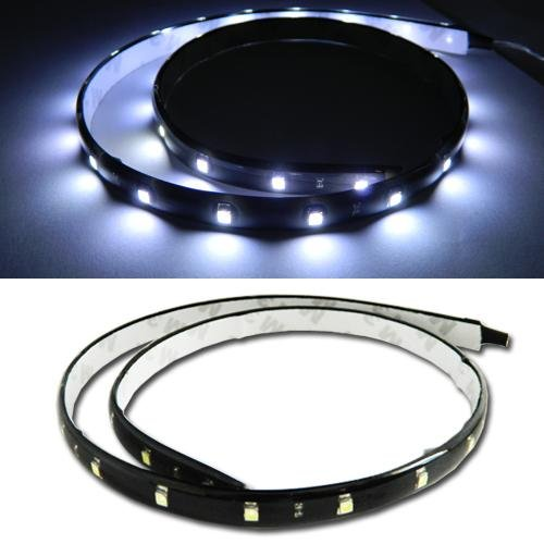 Orion Technology White 24 Inches 30-Smd Diy Flexible Waterproof Led Strip Lights