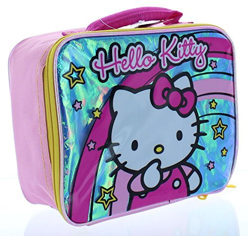 Hello Kitty kids Stars and Rainbows Lunch Bag Stars and Rainbows Lunch Bag - 1