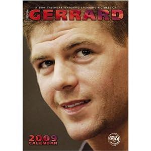 Steven Gerrard Liverpool Cpt Wall Calendar 2009 from STREET HASSLE