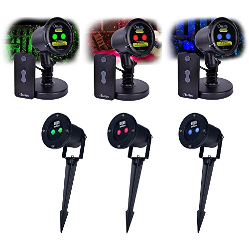 BlissLights-OutdoorIndoor-Spright-Firefly-Motion-Moving-Laser-Light-With-Timer