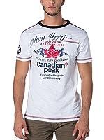 CANADIAN PEAK Camiseta Manga Corta Jartiste (Blanco)