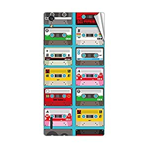 Garmor Designer Mobile Skin Sticker For Huawei Ascend P6 - Mobile Sticker