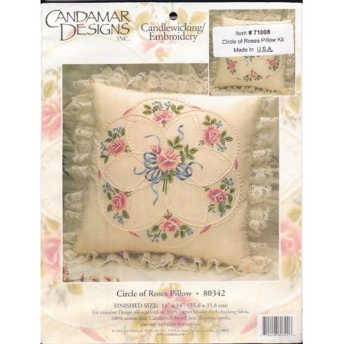 Amazon Com Candamar Candlewicking Embroidery Circle Of