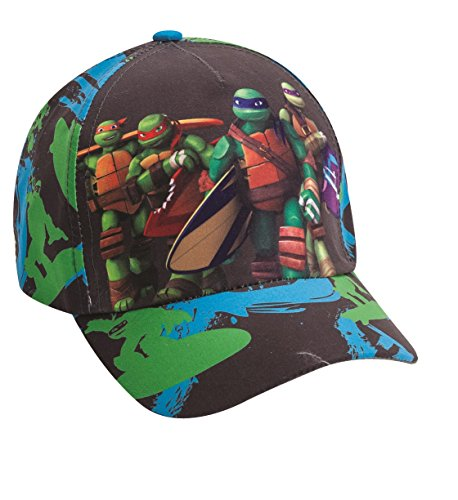 Official Licensed Teenage Mutant Ninja Turtles Black Hat - Licensed Viacom Ninja Turtles Hat
