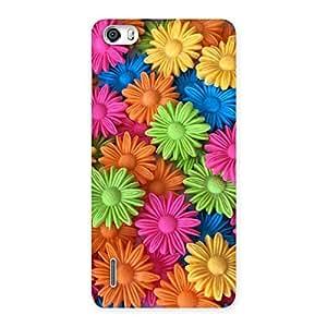 Delighted Art Sunflower Print Back Case Cover for Honor 6
