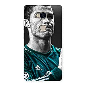 Radiant Calm Soccer Star Back Case Cover for Huawei Honor 5X