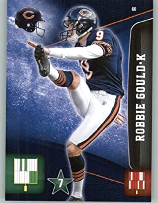 2011 Panini Adrenalyn XL Football Card #60 Robbie Gould - Chicago Bears - NFL Trading Card