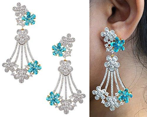 swasti-jewels-womens-american-diamond-cz-zircon-fashion-traditional-ethnic-jhumkas-earrings-blue
