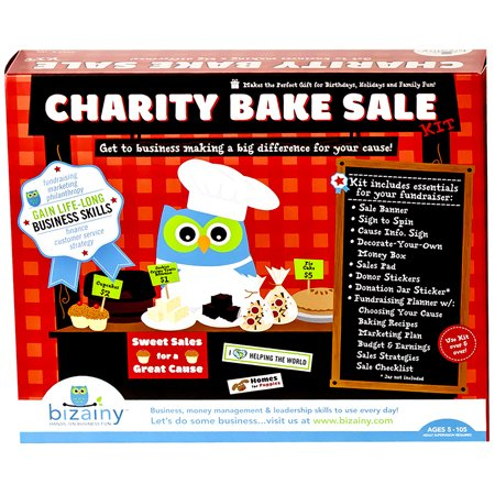Bizainy Charity Bake Sale Activity Kit